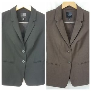 The Limited Womens Blazers Petite Size 2 Set of 2